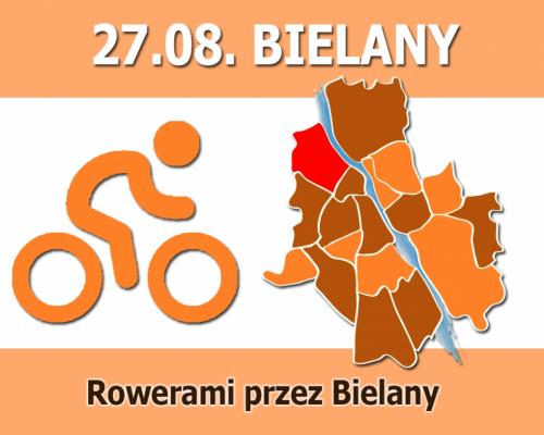 Rowerami przez Bielany
